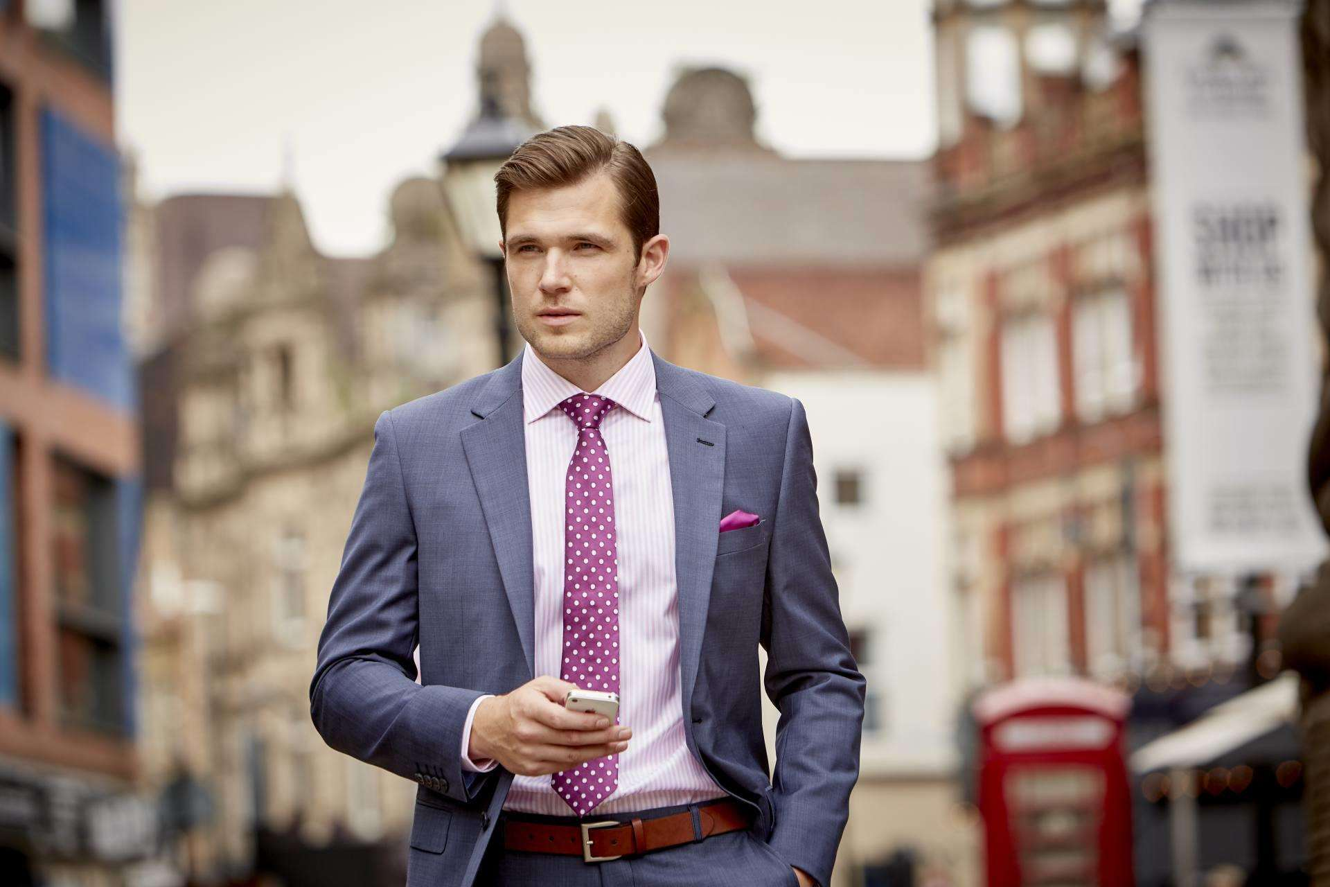 How to Look Sharp on the Train as a Working Dad PLUS Win an iPad with House of Fraser, Palmer Blue349%, lifestyle%