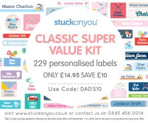 Get Organised for Going Back to School with Stuck On You!, MREC%, product-review%