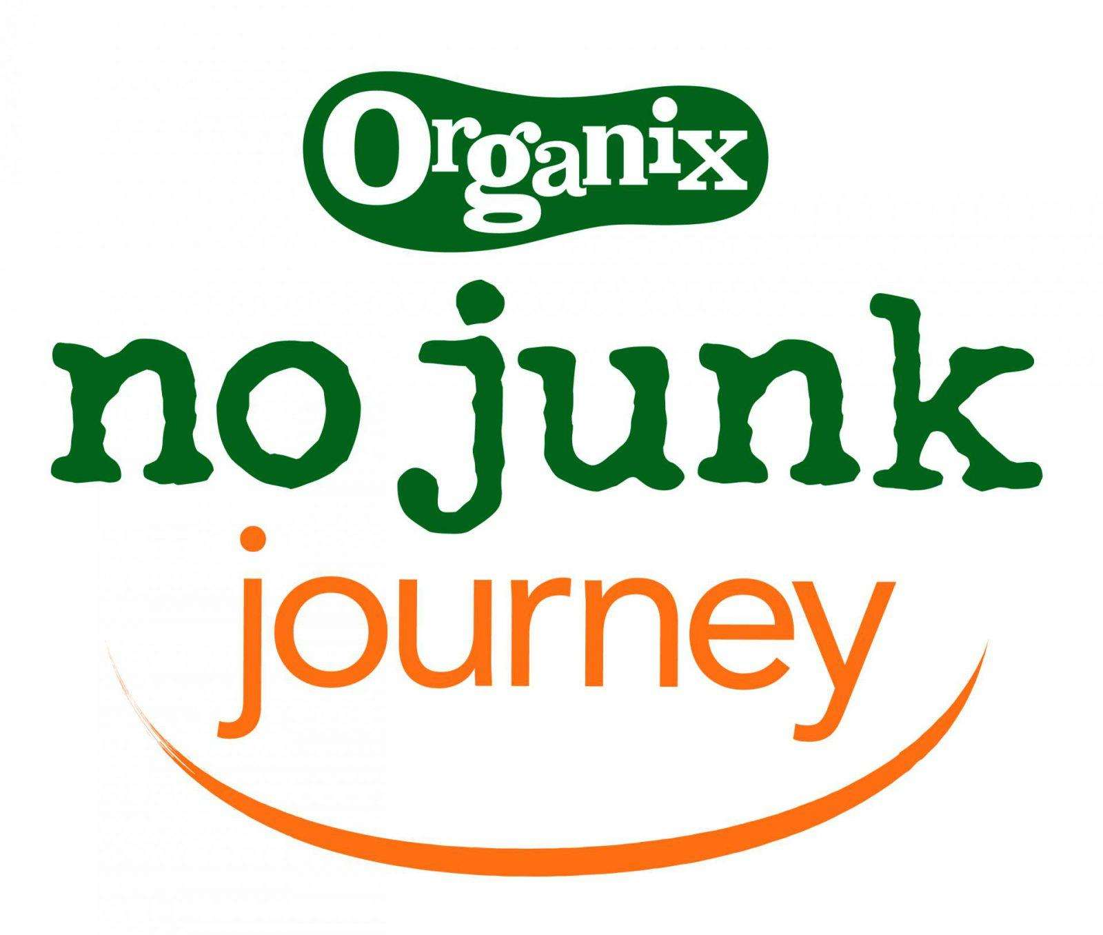 How to cut the family food shop from £120 to £50 | #nojunkjourney, Organix NoJunkJourney Logo Orange 01 1600x1356%, lifestyle%