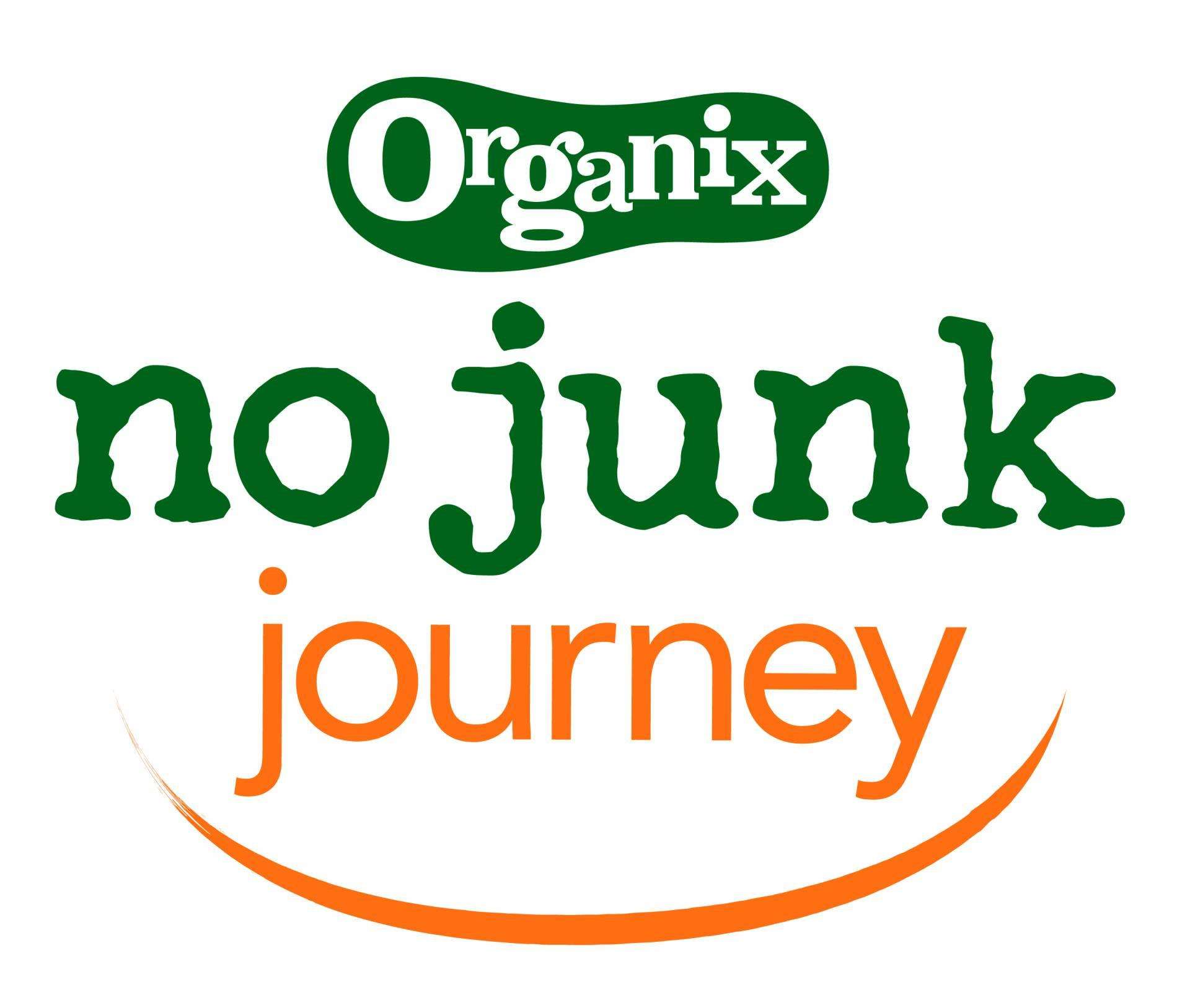 How to cut the family food shop from £120 to £50 | #nojunkjourney, Organix NoJunkJourney Logo Orange 01%, lifestyle%