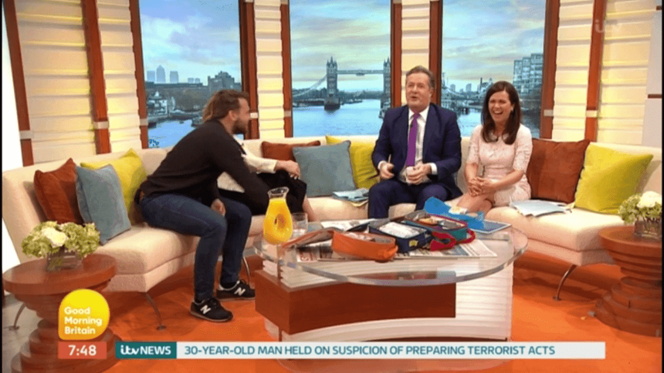 Piers Morgan dubs parents as feckless and lazy in GMB melt down whilst sat next to me!, IMG 0890%, new-dad, lifestyle%