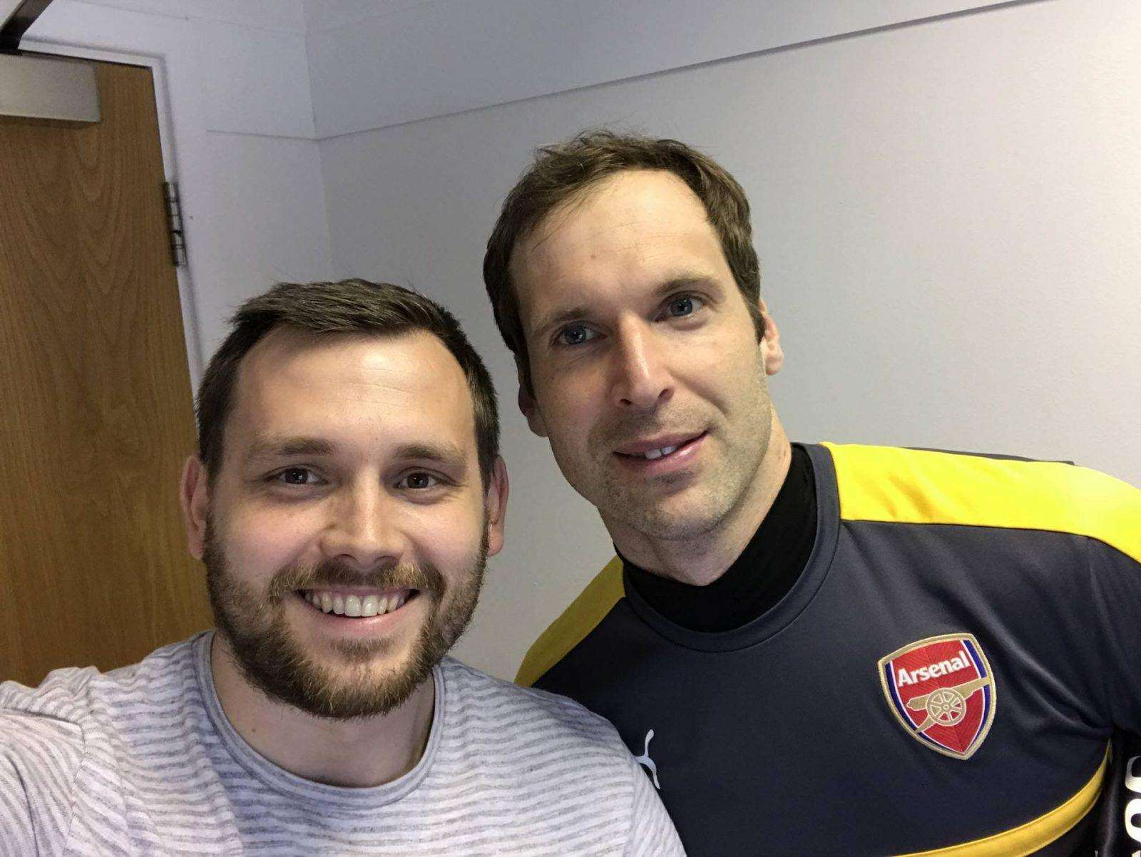 Meeting Peter Cech the Dad & Footballer PLUS Arsenal Giveaway, IMG 3453 e1490546755821 1600x1202%, uncategorised%