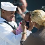 32 Father's Day Memes To Remind You What It's Like To Be A Great Dad, Sailor meets his child for the first time after returning from a seven month deployment 150x150%, daily-dad%