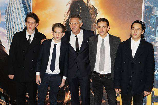 Like father like sons? Gary Lineker says he doesn't want to go back to dating just yet