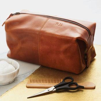 Father's Day with Not on the High Street, normal leather wash bag%, daily-dad, lifestyle, its-the-fergusons%