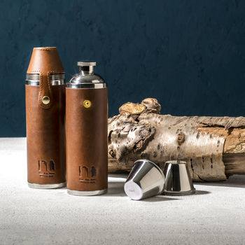 Father's Day with Not on the High Street, normal luxury leather hunter flask%, daily-dad, lifestyle, its-the-fergusons%