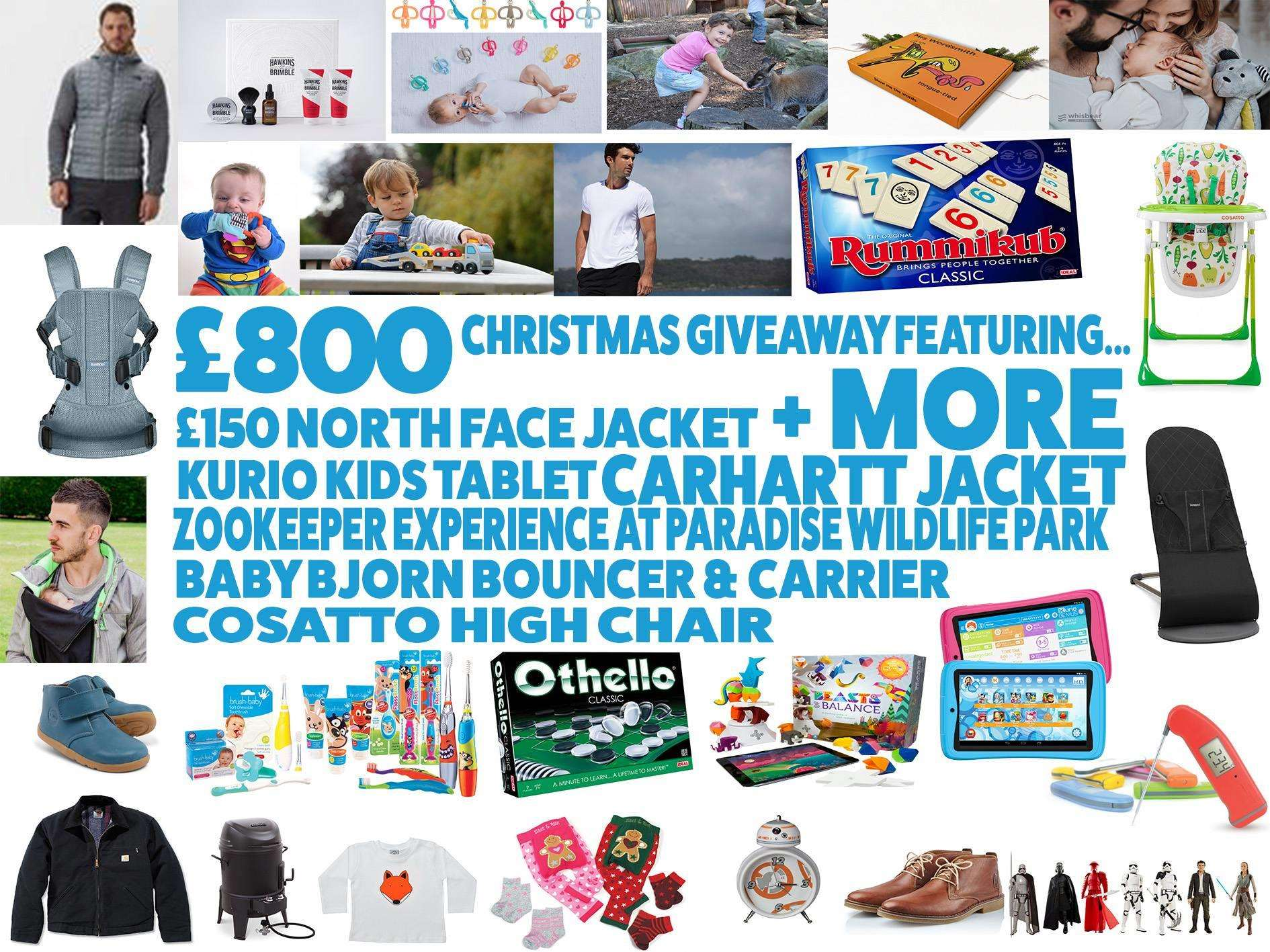 Huge Christmas Giveaway worth over £800, Untitled 1%, product-review%