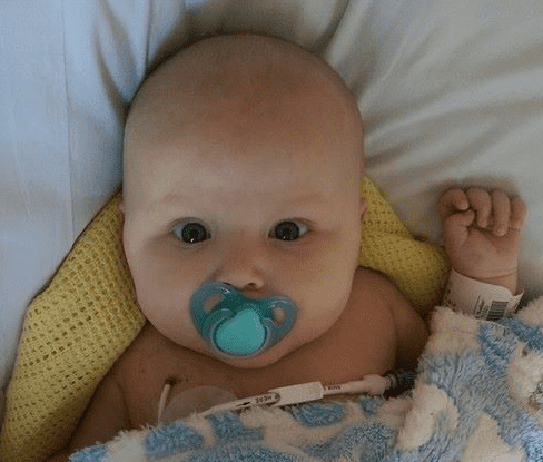 My 11 week old son has cancer | World Cancer Day, Pic1%, health%