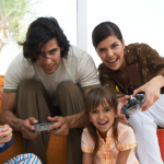 How To Avoid Conforming to the Gender Stereotypes With Your Kids, family gaming 150x150%, daily-dad, new-dad%