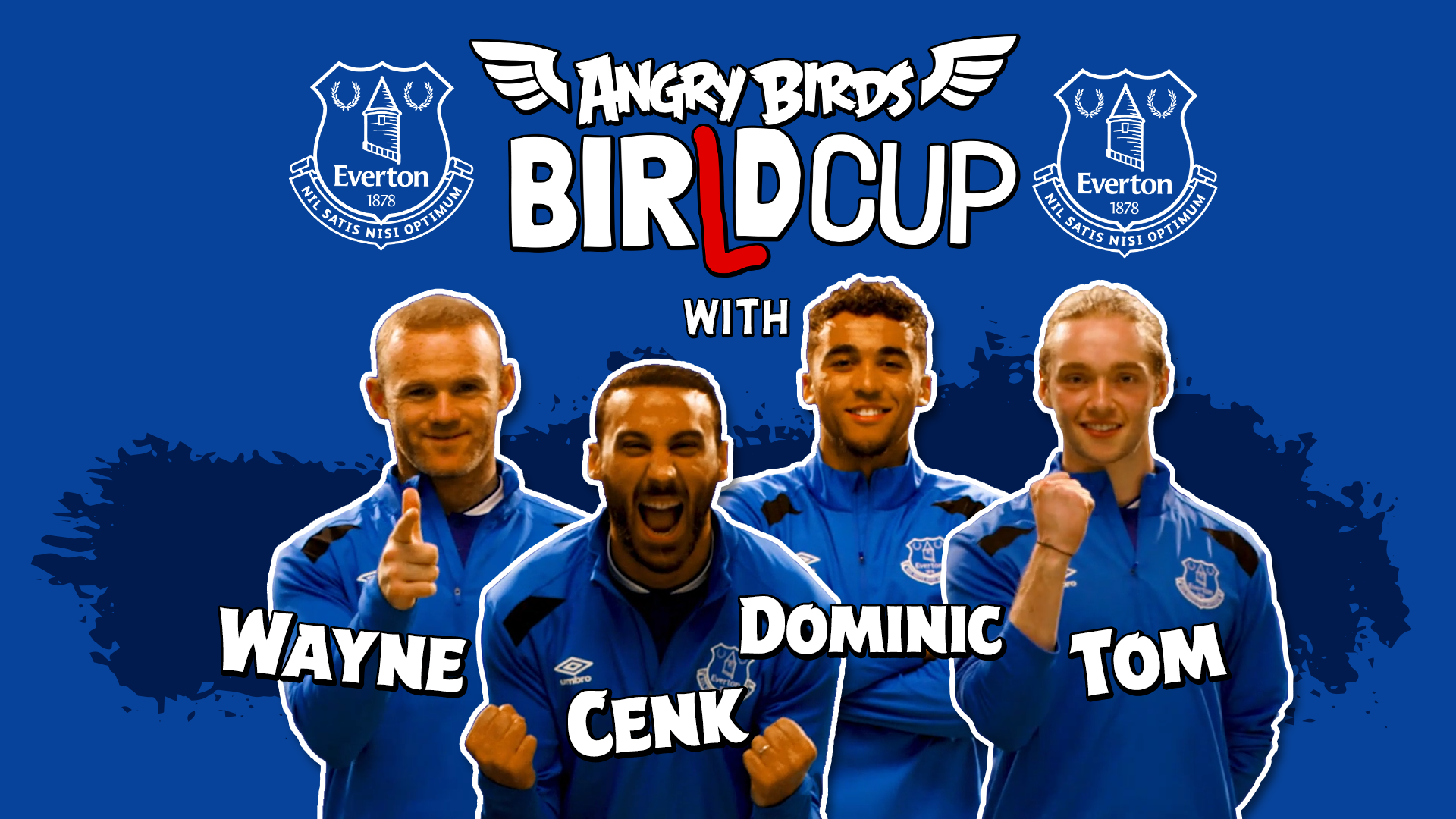 Forget the World Cup, this is the BIRLD Cup with the Angry Birds, AB Everton series key art players 1%, daily-dad, new-dad%