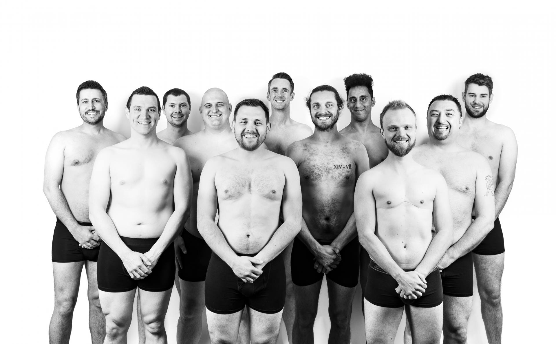 Dads Pose Naked to Raise Awareness of Father's Body Image Related Mental Health, DadBodShoot April2018 591%, daily-dad, health%