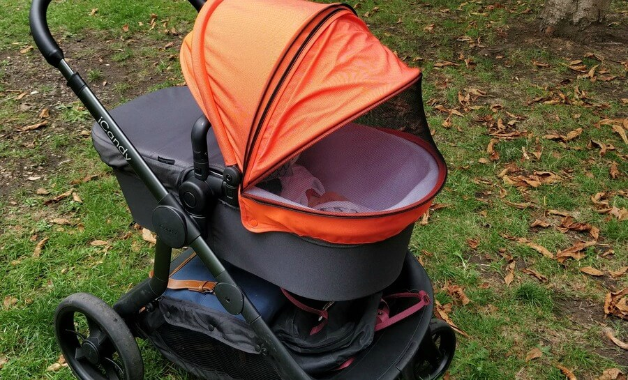 Icandy Orange Pushchair Review Pushchairs The Dadsnet