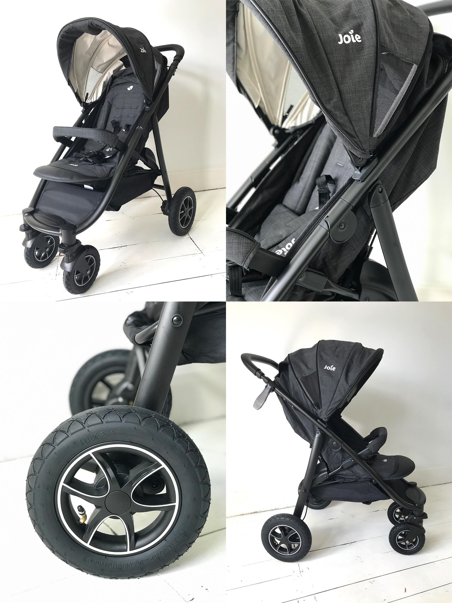 Dadsnet reviews 6 of the UK's best pushchairs in 2018, Joie MyTrax%, product-review%