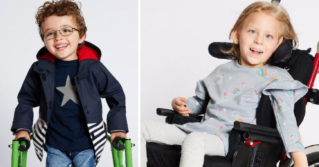 M&S Release 'Easy Dressing' Range for Children with Disabilities, sec 31807258 4791%, health%