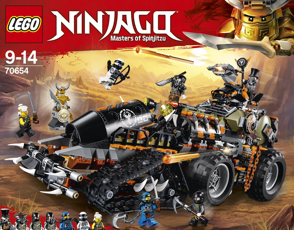 This Toy Expert has Chosen his Best Gift Ideas for Christmas 2018, LEGONinjago 70654 Dieselnaut Box%, product-review%