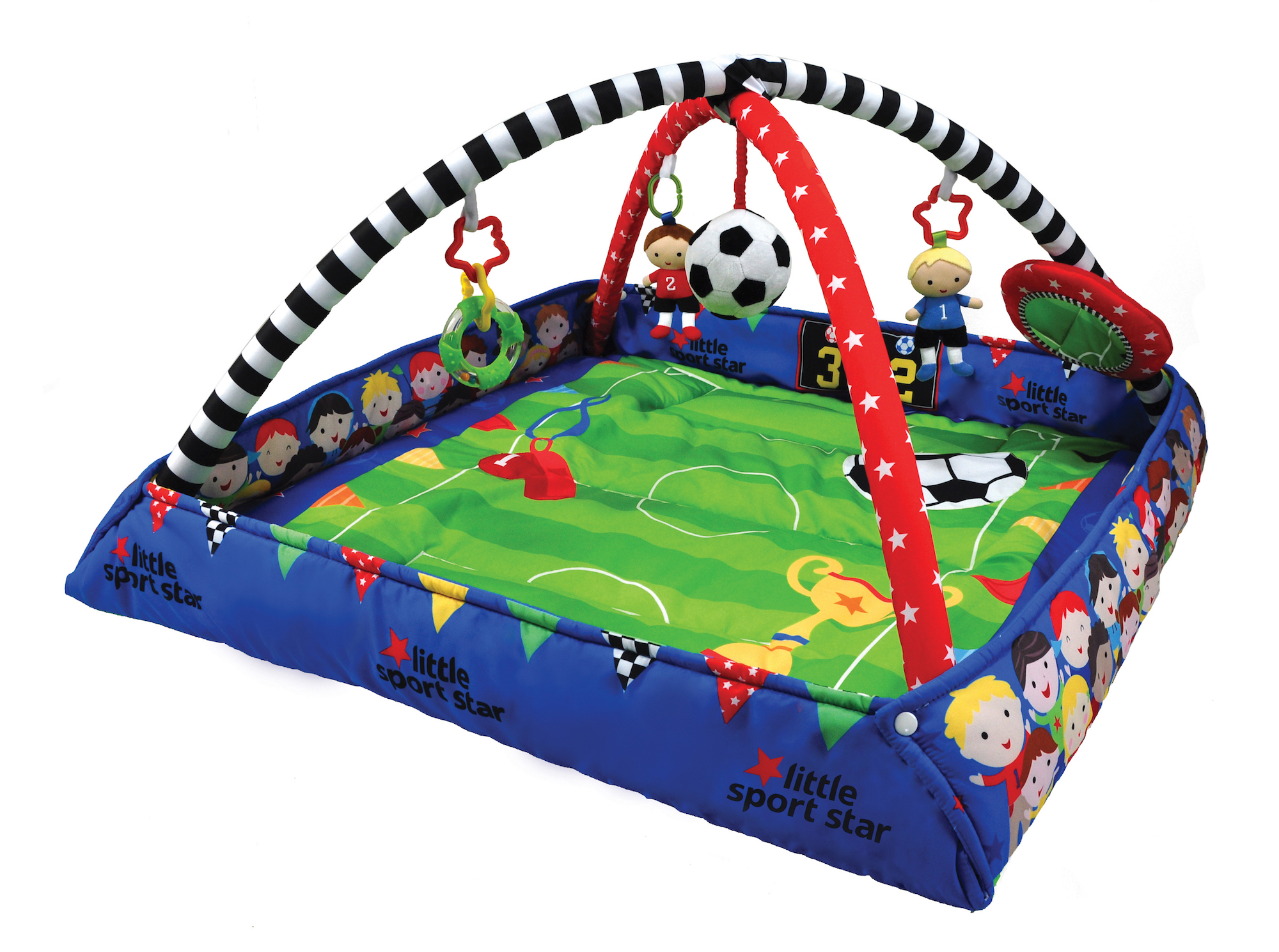 The only football activity gym for babies