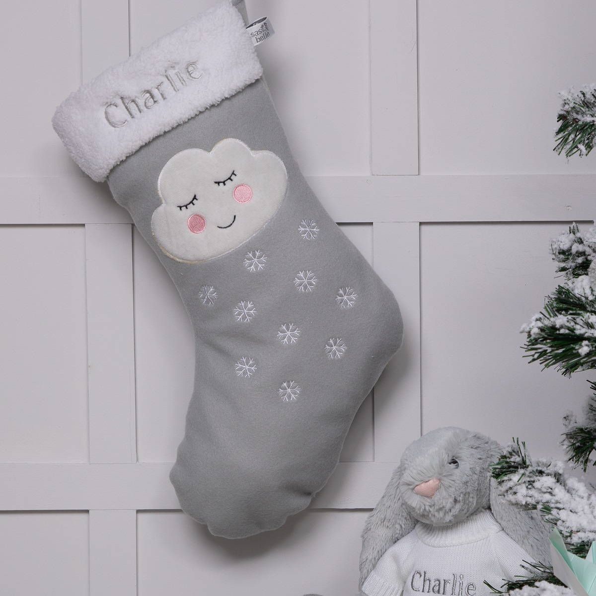Personalised Christmas stocking by That's mine