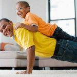 How being a Stressed Parent affects your Kids, Workout Routine 696x464 150x150%, daily-dad, health, featured%