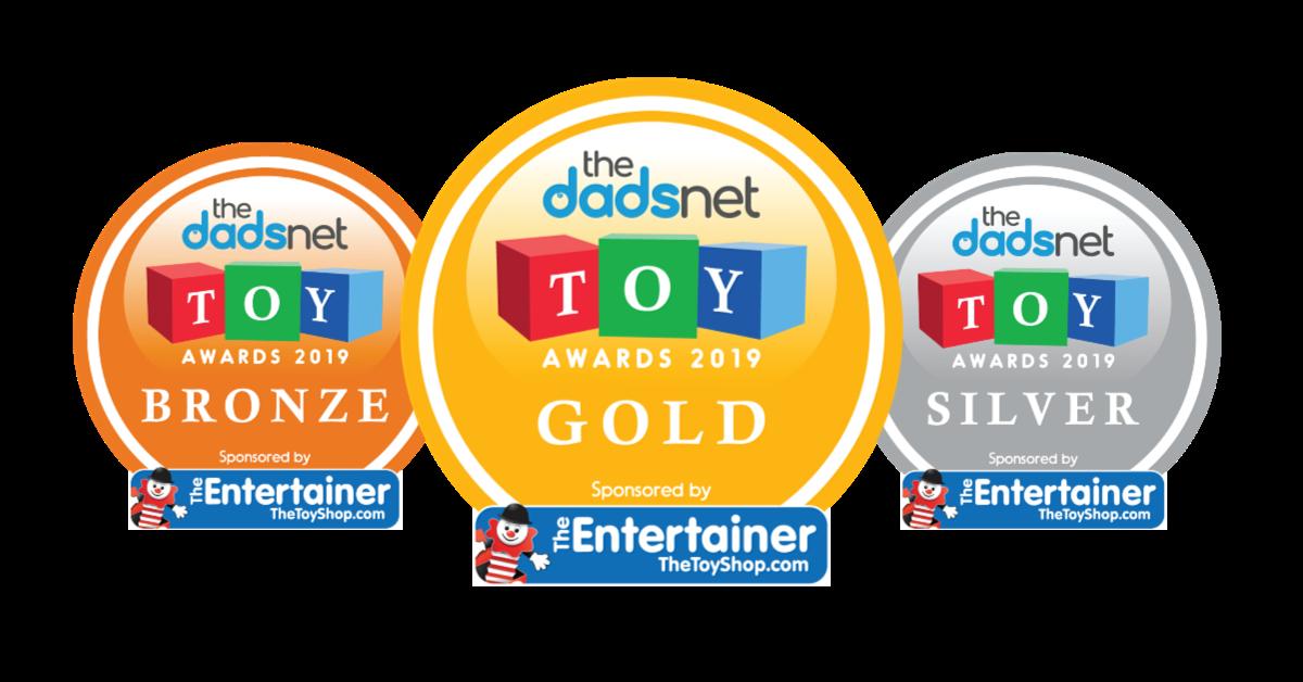 TheDadsnet Toy Awards 2019, Toy Award Badges 2%, %