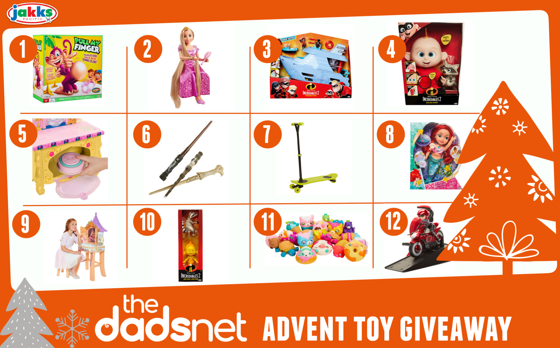 12 Toys of Christmas Advent Giveaway, Toy Giveaway Xmas 2%, daily-dad%