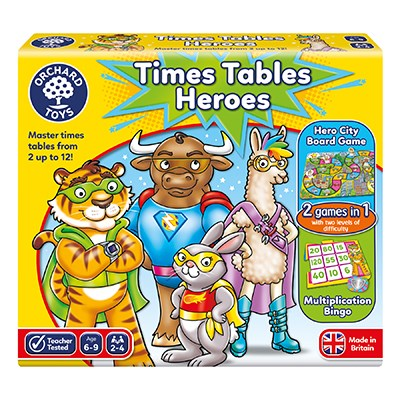 Dadsnet Toy Awards 2020 Winners Revealed, 101 times tables heroes box 400x400%, product-review%