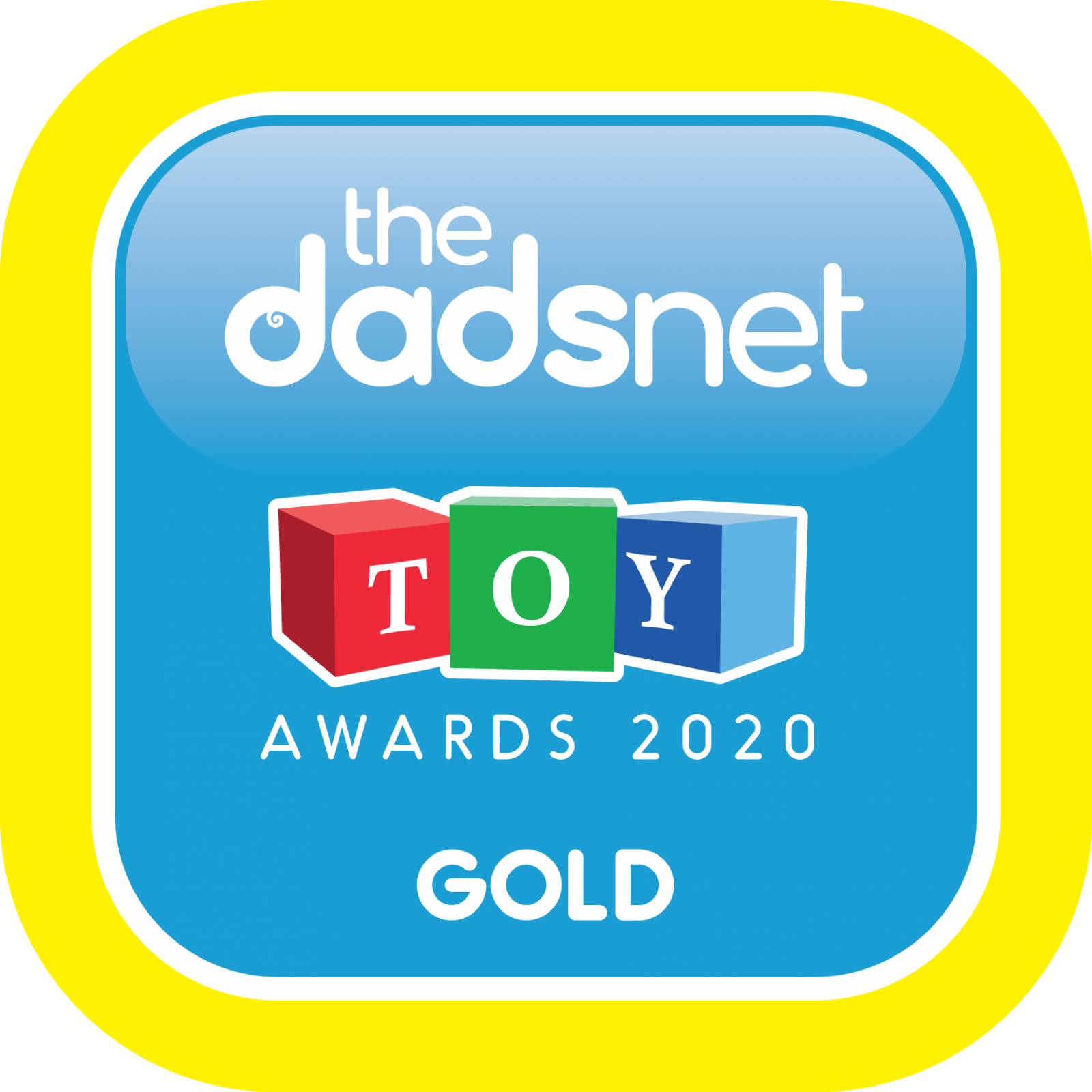 The Dadsnet Toy Awards - Badge Downloads, TDN Toy Award 2020 Gold 1600x1600%, %