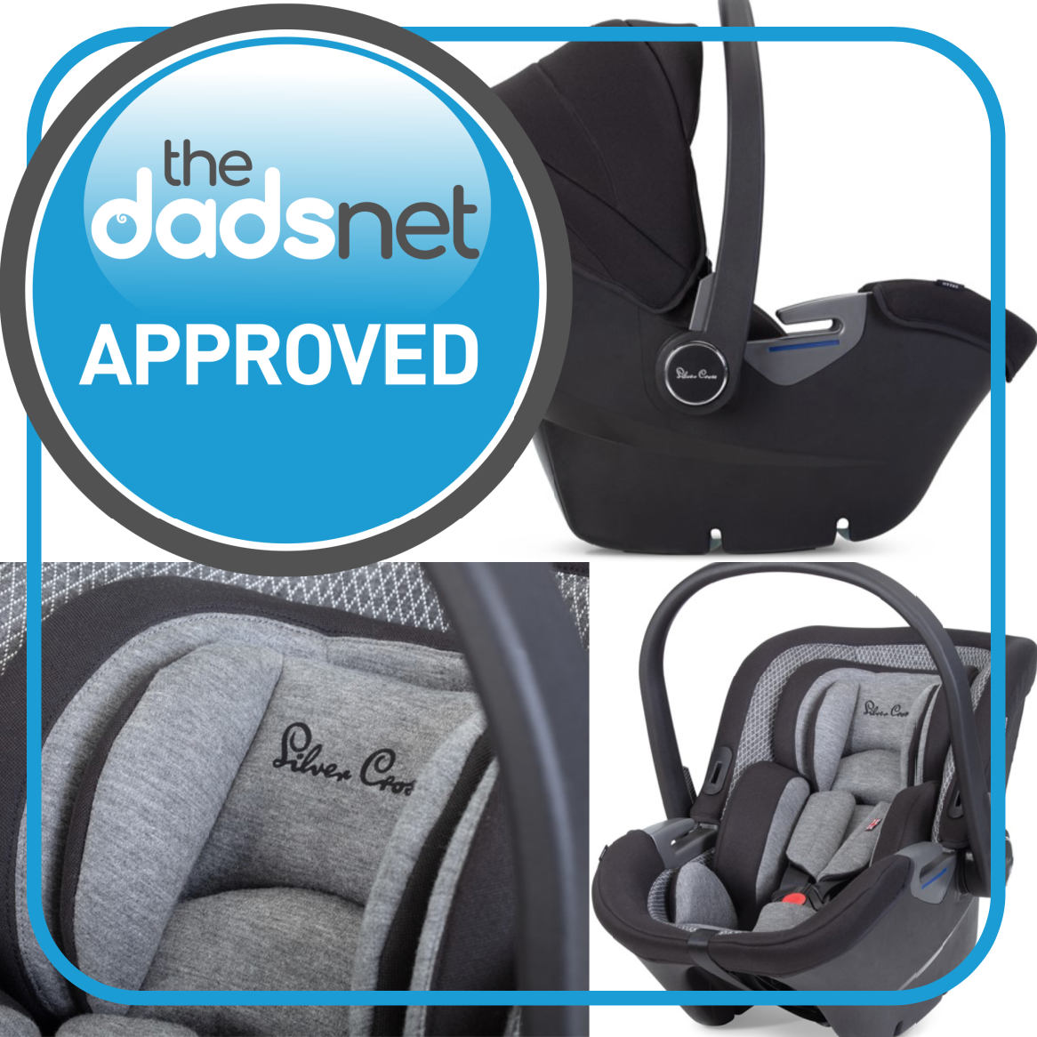Silver Cross Dream i-Size Wins Dadsnet Approved Endorsement, Awards 01%, product-review%