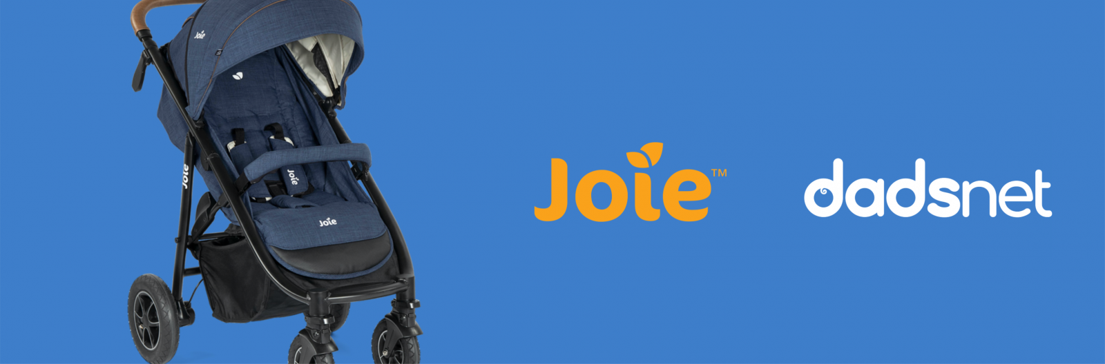 The Best Stroller Hacks to Make The Most of Your Buggy, Joie Banner Stroller 1600x528%, daily-dad%