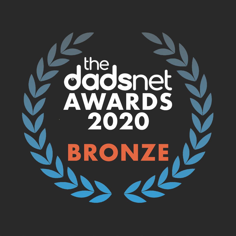 Download your hi-res award badge, Dadsnet Product20Awards Bronze v02%, %