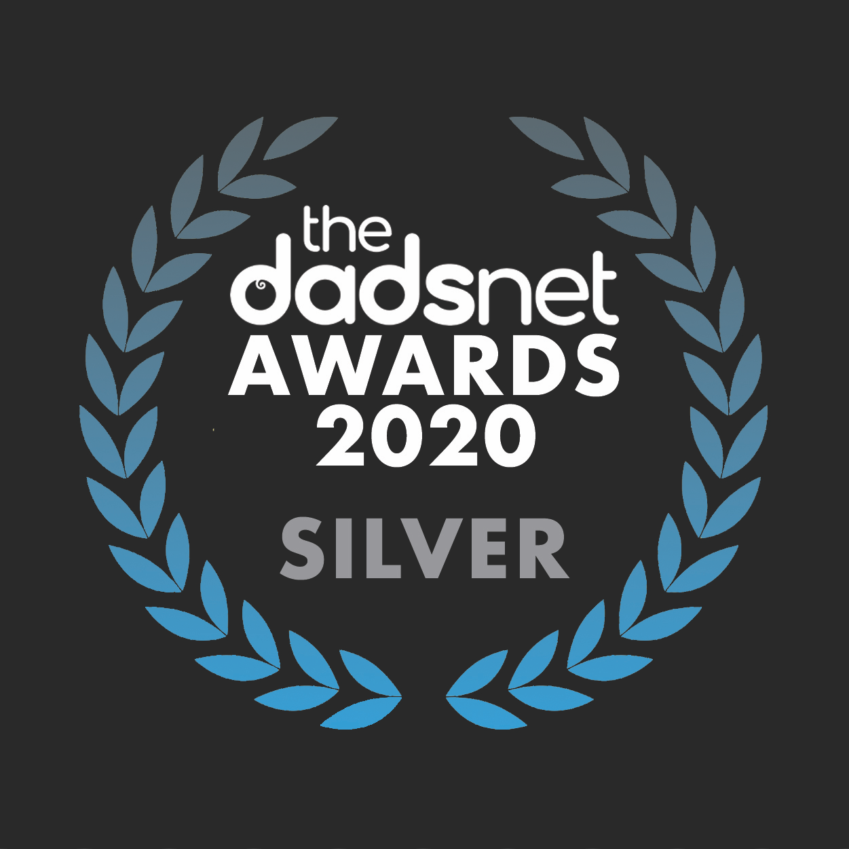 Download your hi-res award badge, Dadsnet Product20Awards Silver v02%, %