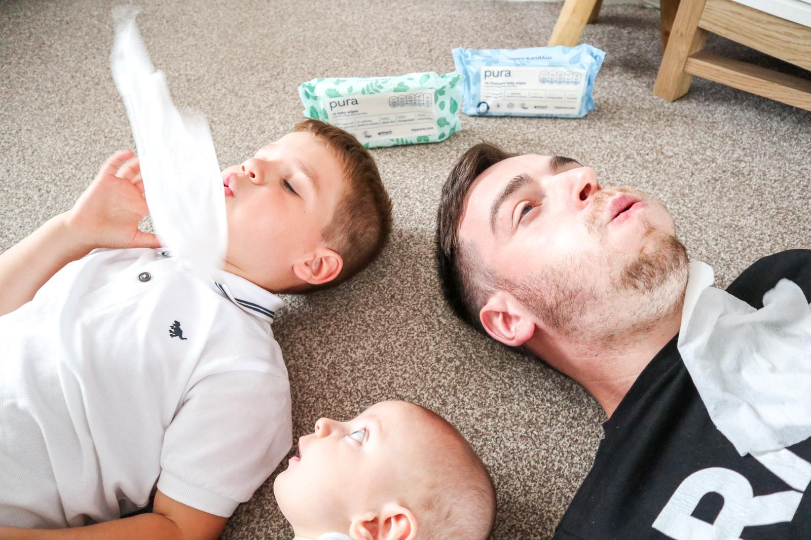 WIN £250 & A Years Supply Of Wipes With The Pura Wipe Challenge, Feed 2%, daily-dad%
