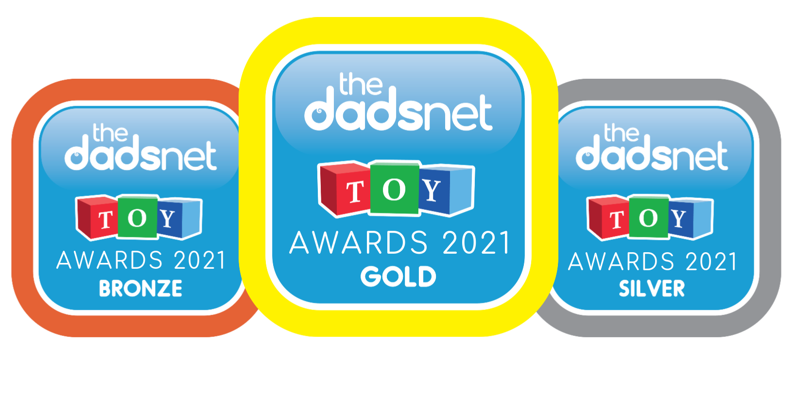 Dadsnet Toy Awards 2021, Toy Awards 2020 Badges 2%, %