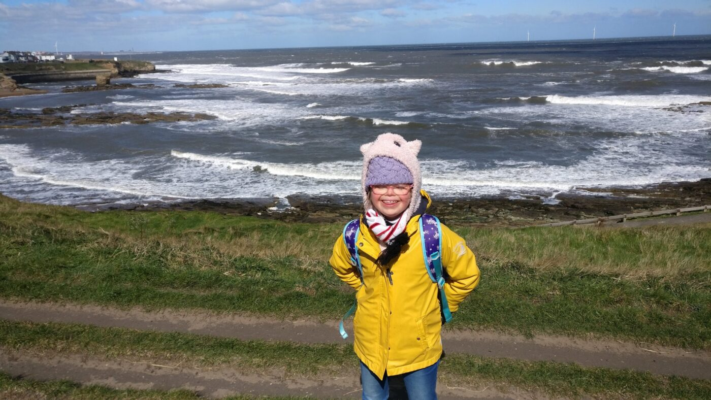 Rowan, 10, raises £1,200 for charity with walking challenge