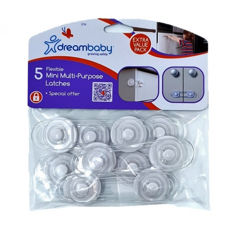 10 Baby and Toddler products for under £10, Dreambaby Mini Multi Purpose Latch Childproofing BabySecurity%, daily-dad, 2-3, 0-1%