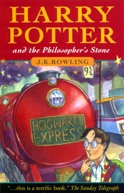 10 classic children's books every family should read together, Harry Potter and the Philosophers Stone Book Cover%, daily-dad%