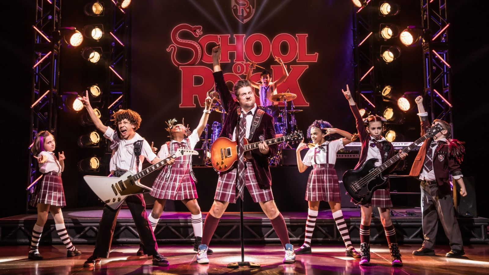 6 Musicals To See With Your Family This Year, school of rock broadway may 2017 1600x900%, 6-9, 4-5, 2-3, 10-13%