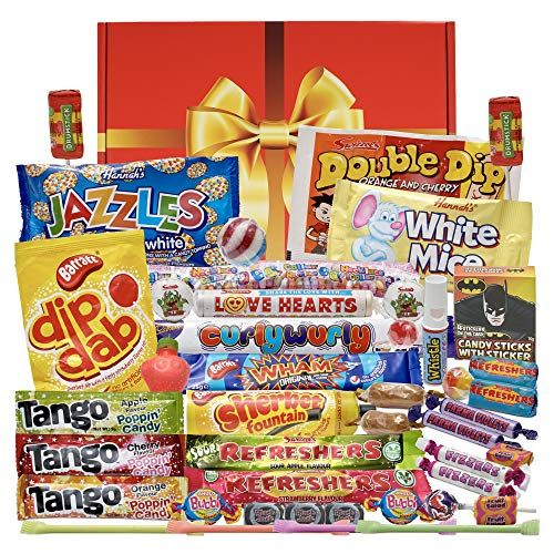 Foodie Father's Day Presents We Love, Bumper Retro Sweets Gift Box New and Improved Version of The Bestselling Sweet Hamper with an Even Bigger Old Fashioned Sweetshop Selection%, daily-dad%