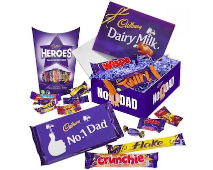 Foodie Father's Day Presents We Love, Cadbury Chocolate Dads Gift%, daily-dad%