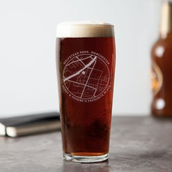20 presents your Dad wants for Father's Day!, normal any map etched beer glass%, daily-dad, lifestyle, featured%