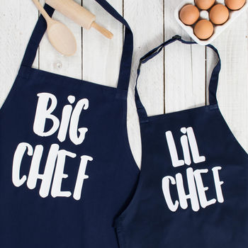 20 presents your Dad wants for Father's Day!, normal big lil chef father and son apron set%, daily-dad, lifestyle, featured%