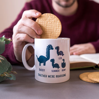 20 presents your Dad wants for Father's Day!, normal personalised daddy and me dinosaur mug%, daily-dad, lifestyle, featured%