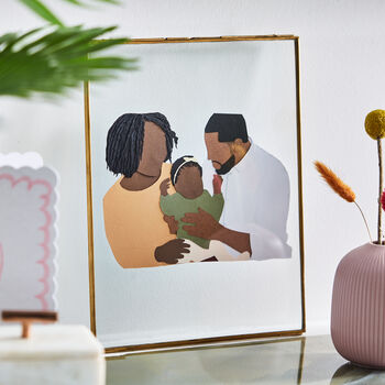 20 presents your Dad wants for Father's Day!, normal personalised family portrait papercut%, daily-dad, lifestyle, featured%