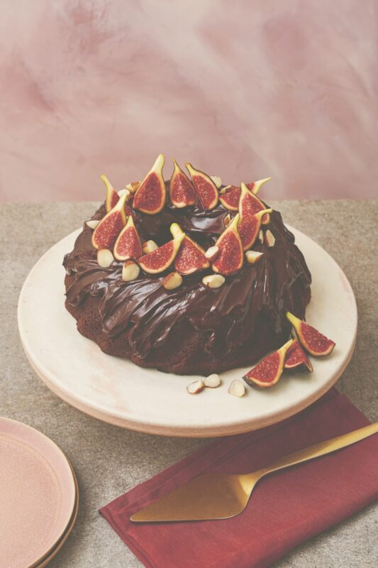 Candice Brown's fig and brazil nut chocolate mud cake recipe