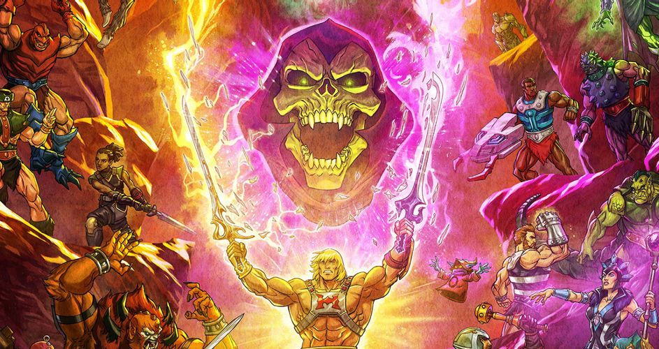 , Masters of the Universe Revelation Poster Header%, %