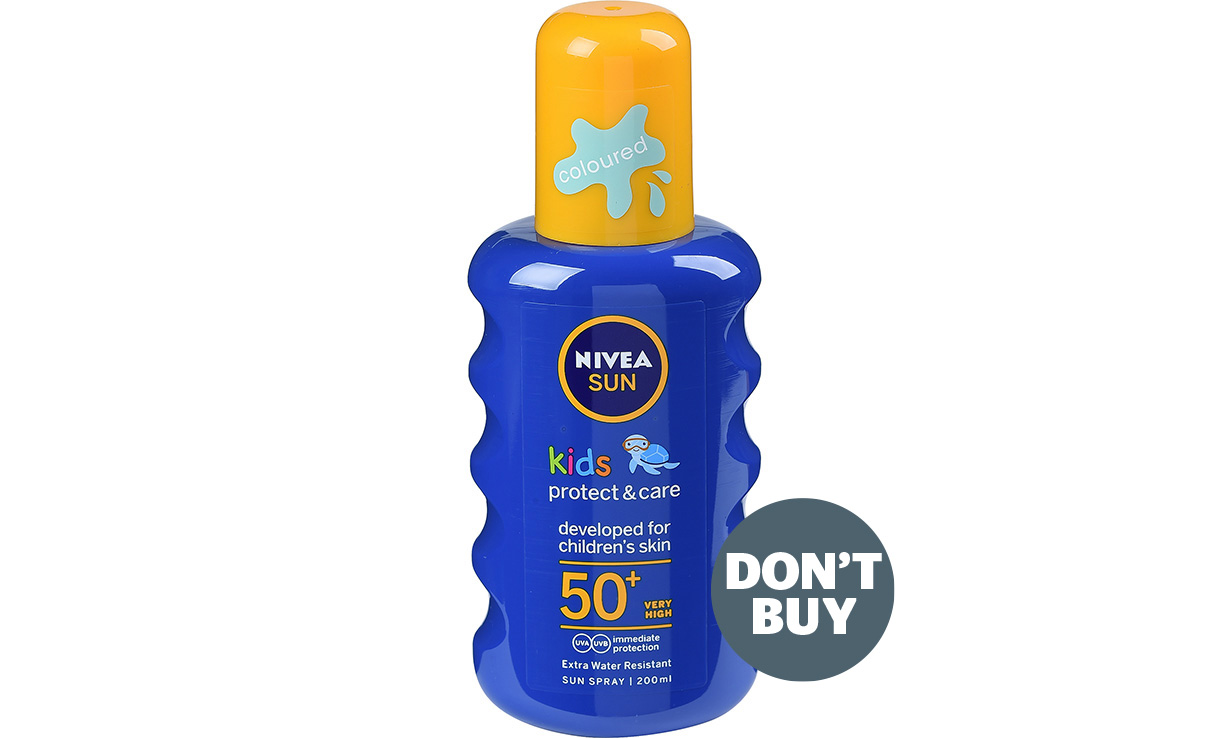 This Popular Sun Cream is Unsafe according to Which?, Nivea Kids Protect Care Coloured Formula SPF50 Spray news inline DB%, health, featured%