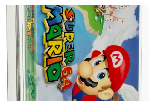 Unopened Super Mario 64 game sells for more than £1 million