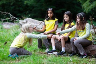Girlguiding warns of 'devastating' fall in girls' happiness as online harms rise