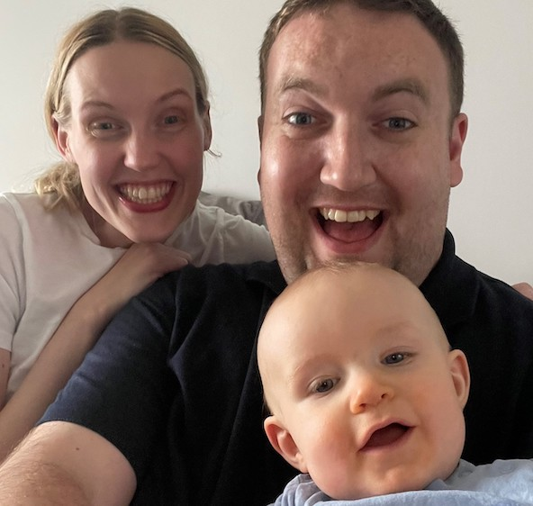 Father makes birth of first child thanks to heart transplant