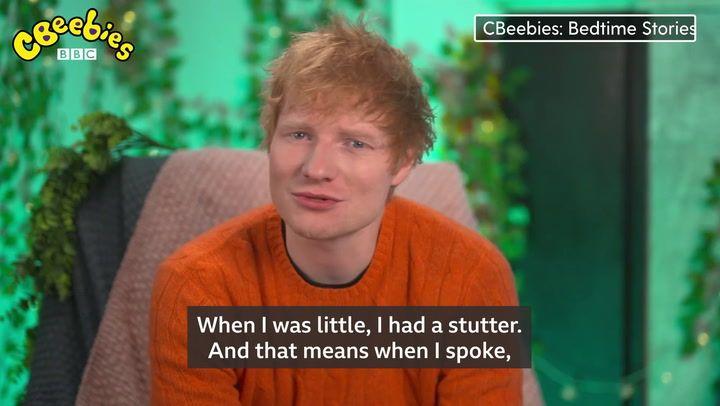 Ed Sheeran makes CBeebies Bedtime Stories debut