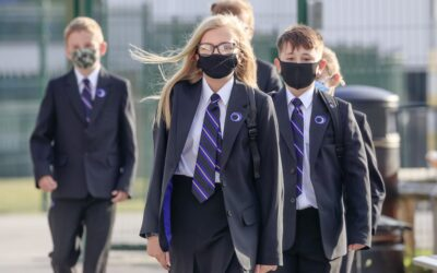 Masks could return to classrooms in England to stem spread of coronavirus